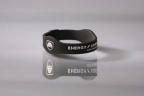 Energy Armor Energyband Schwarz / Weiß