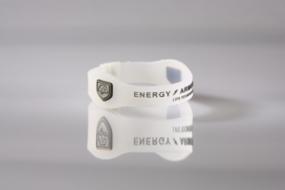Energy Armor Energyband Weiß / Silber