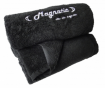 Magnatic - Das magnetische Fitnesshandtuch, Schwarz