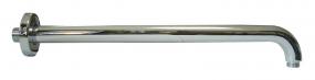 Wandarm aus Messing/verchromt (ca. 40cm)