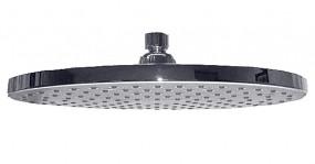 Die ovale Regendusche ist aus ABS Kunststoff/verchromt und durch die hohe anzahl der Düsen sorgt di